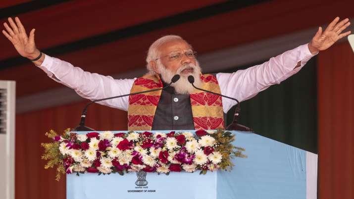 India Tv - PM Modi, West Bengal, Assam