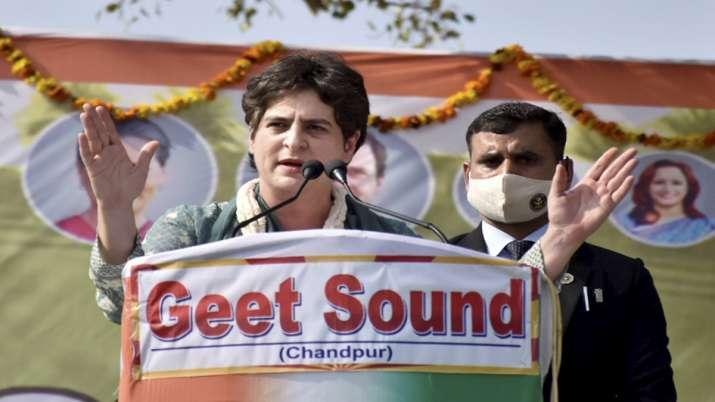 Priyanka Gandhi, farmers,