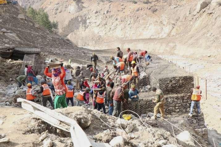 Uttarakhand disaster death toll Chamoli glacier burst rescue operations   India News – India TV
