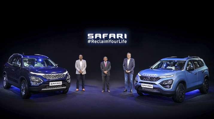 tata safari car launch