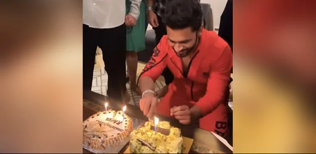India Tv - Bigg Boss 14: Rahul Vaidya, Rubina Dilaik ring in celebrations with tasty cakes | see pics