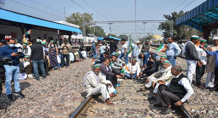 Farmers protest against farm laws 2020: Indian Railways stated that 'Rail roko' agitation in India passed off without any untoward incident.