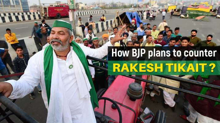 rakesh tikait latest news, rakesh tikait news,sanjeev balyan, western up, jat voters in UP, jat domi