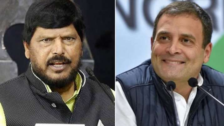 Union minister Ramdas Athawale suggested Rahul Gandhi to marry a Dalit woman