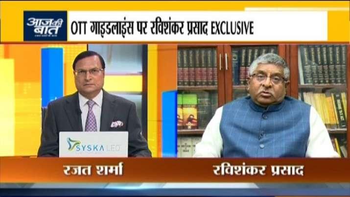 Union Minister Ravi Shankar Prasad speaks on new social