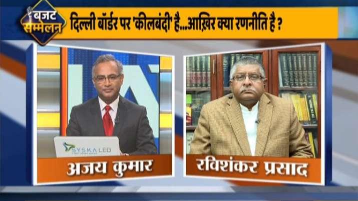 ravi shakar prasad exclusive interview