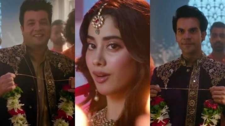 'Roohi' song 'Panghat' featuring Janhvi Kapoor, Rajkummar Rao & Varun Sharma to release on Monday