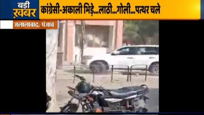Jalalabad news, sukhbir badal car attack