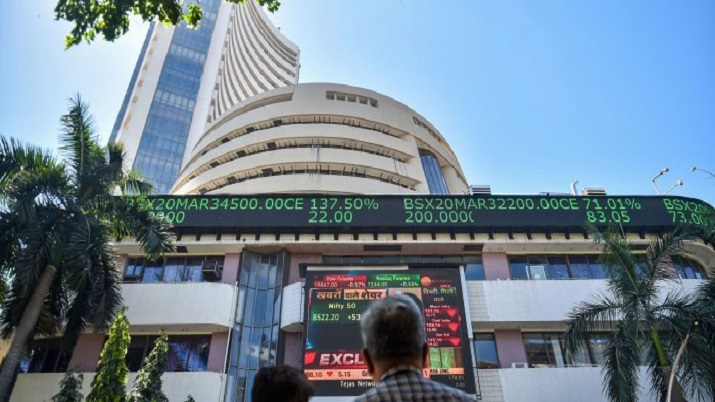 Sensex rallies over 600 points to hit record high