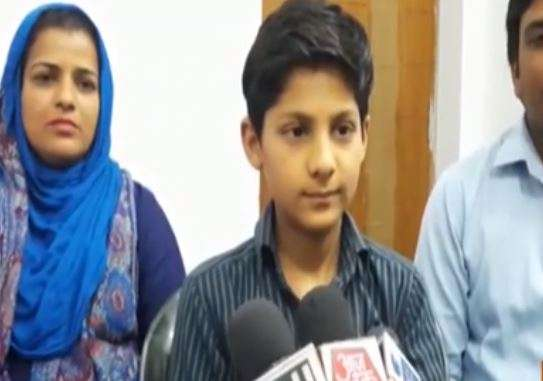 12-year-old son of Shabnam Ali, a death row convict lodged in Rampur jail