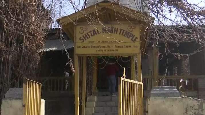 Shital Nath Temple in Kashmir, Shital Nath Temple reopened
