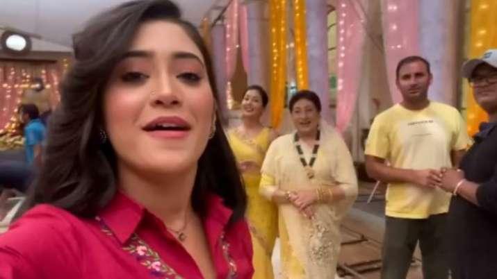 Pawri Ho Rahi Hai: Yeh Rishta Kya Kehlata Hai's Shivangi Joshi joins the trend with funny video