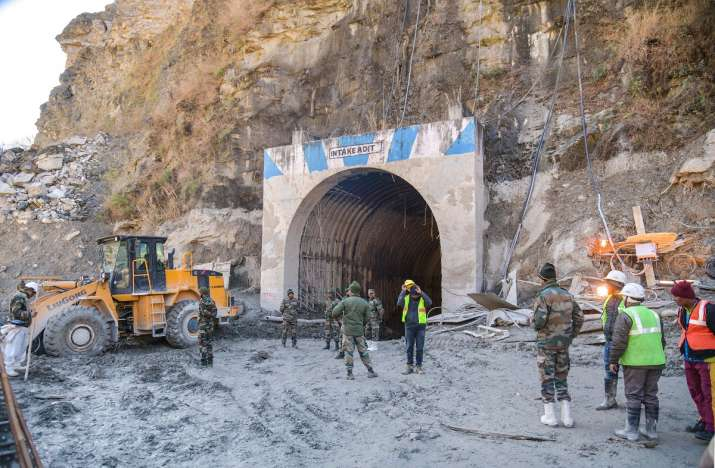 Rescue operation continue at damaged Tapovan hydel project tunnel, following Sunday's glacier burst