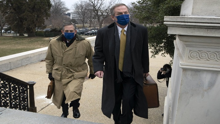 donal trump impeachement trial