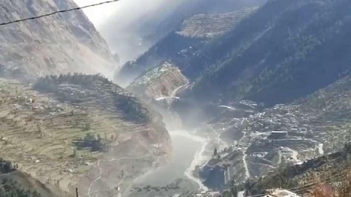 Image result for Uttarakhand glacier burst