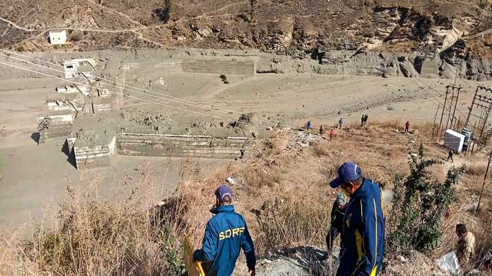 NTPC hydropower project, Chamoli, Uttarakhand glacier burst, joshimath