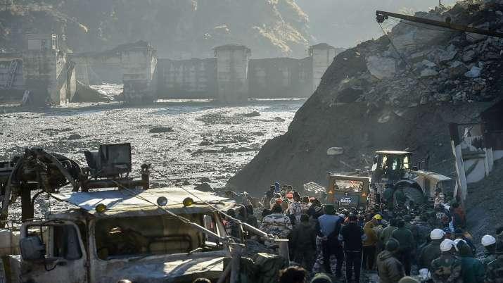 India Tv - uttarakhand glacier burst photos