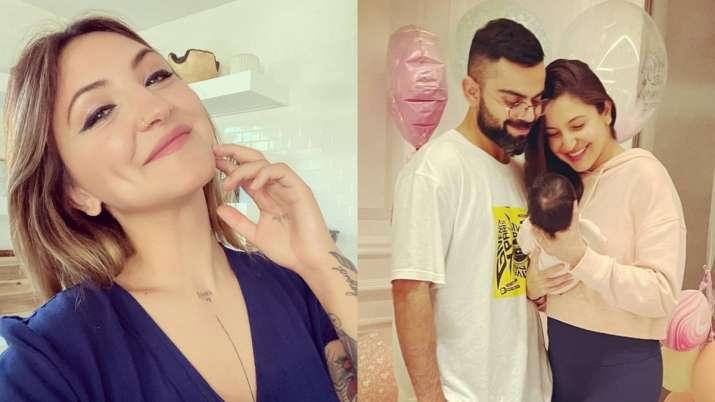 Anushka Sharma's American doppelganger Julia Michaels reacts to Vamika's pic