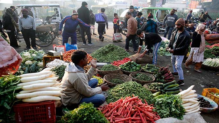 Retail inflation, vegetables prices