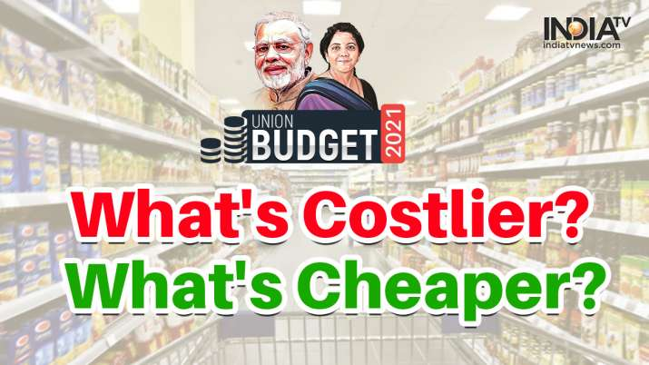Budget 2021-22: What gets costlier and what gets cheaper | Check Full List