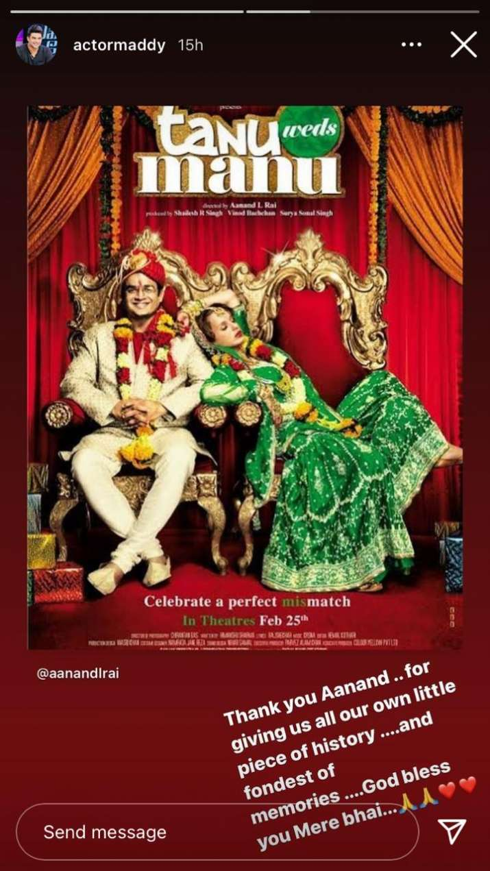 India Tv - R. Madhavan