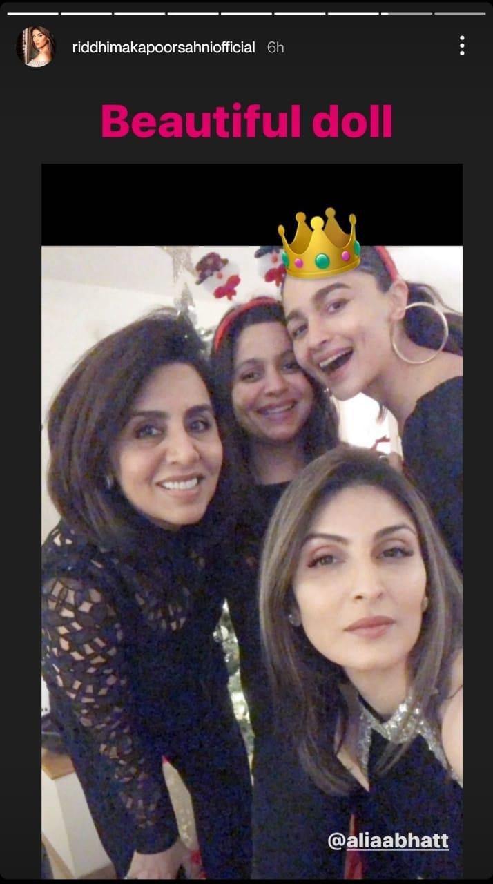 India Tv - Riddhima's birthday wish for Alia