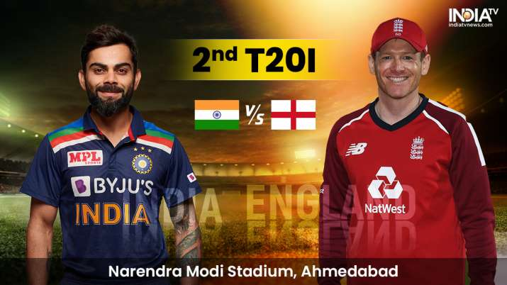 Live Cricket Score IND vs ENG 2nd T20I: Live updates from