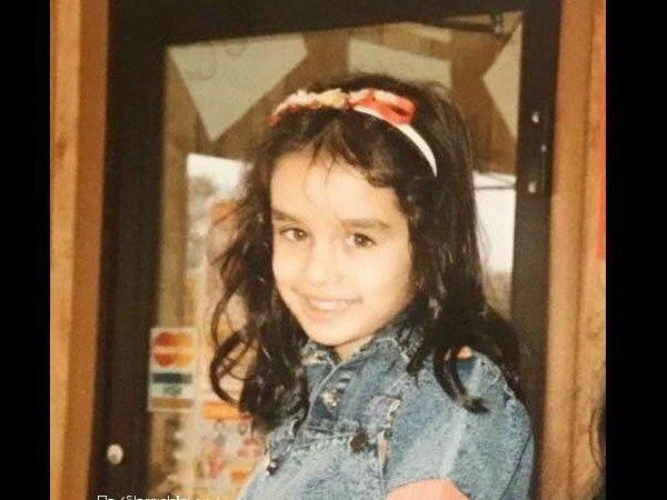 India Tv - Rare childhood pictures of Shraddha Kapoor