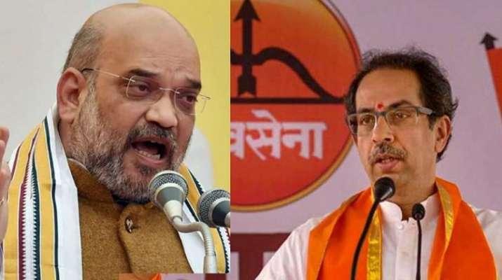 amit shah uddhav thackeray heated arguments, amit shah uddhav thackeray, pm modi intervenes, cm meet
