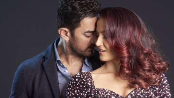 Aamir Khan poses with 'Queen of dance floor' Elli AvrRam in first look of Koi Jaane Na