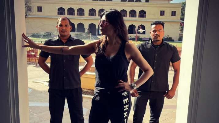 Sushmita Sen begins filming for 'Aarya 2' in Jaipur