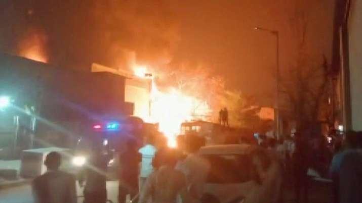 ahmedabad fire