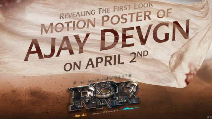 RRR: Makers to release Ajay Devgn's motion poster on his birthday, fans can't keep calm