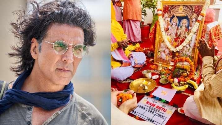 Ram Setu: Akshay Kumar kick-starts shooting, unveils his first look as an archaeologist