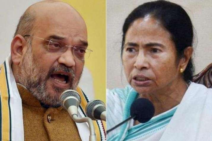 'Conspiracy' Vs 'no-conspiracy' - Mamata, Shah raise poll