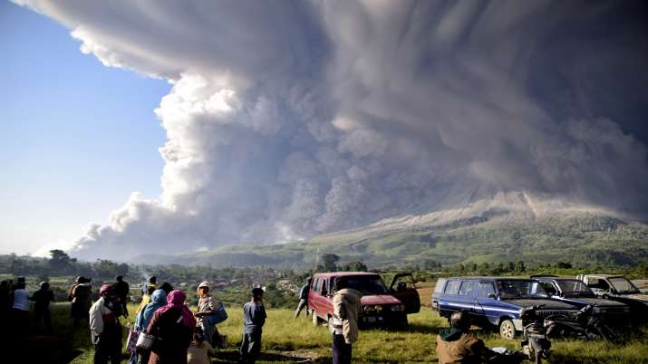 India Tv - Indonesia' Sinabung volcano eruption