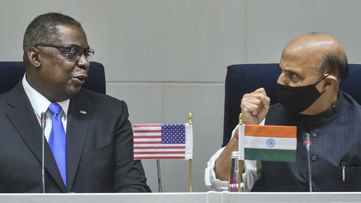 India US, us defence secretary, rajnath singh