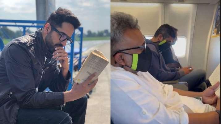 Ayushmann Khurrana, director Anubhav Sinha head to Delhi for last shooting schedule of 'Anek'