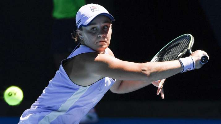 Top-ranked Ash Barty