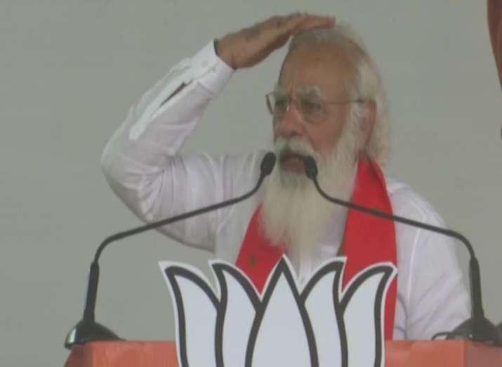 Bengal polls 2021, modi rally, modi bankura rally, modi bengal rally, pm modi attacks mamata banerje