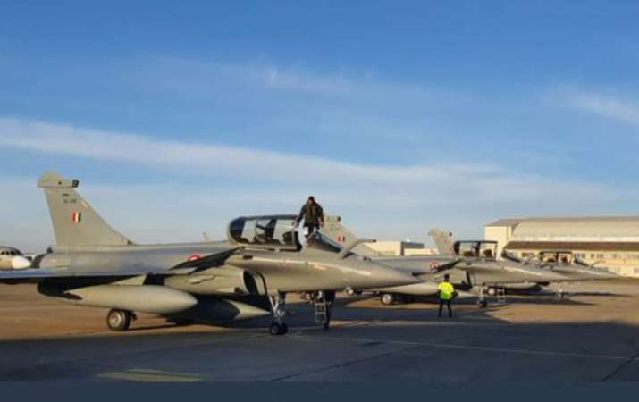 Fourth batch of 3 Rafale fighter jets arrive in India from