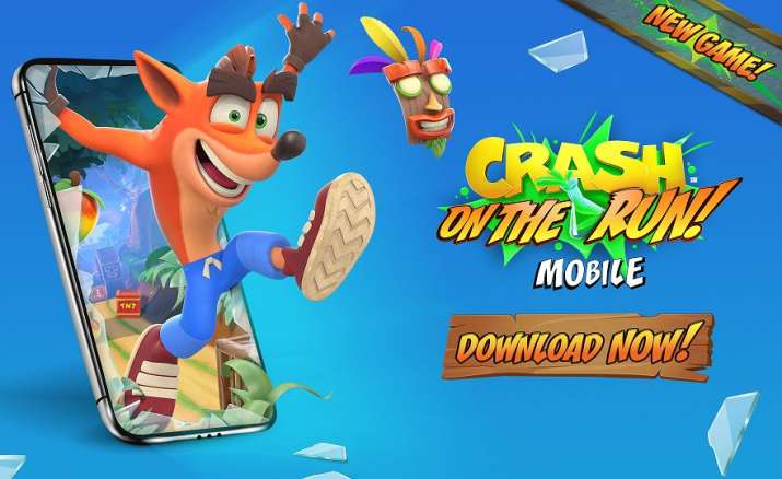 crash bandicoot, mobile game