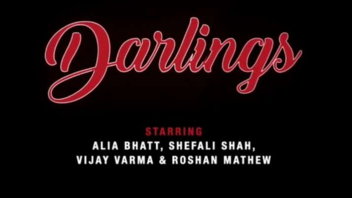 SRK announces Alia Bhatt's maiden production 'Darling' first look: Yeh comedy thodi dark hai