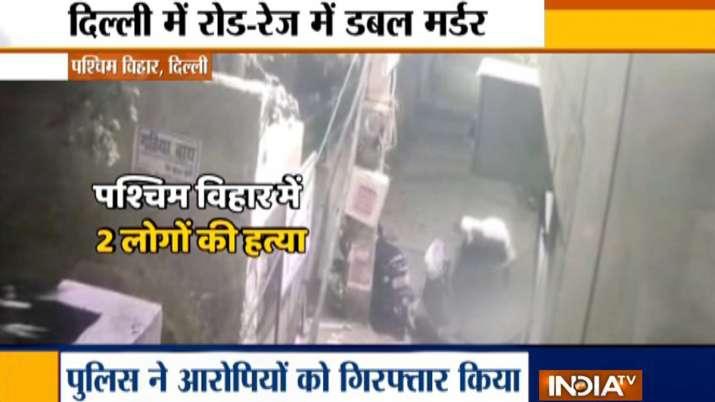 delhi double murder