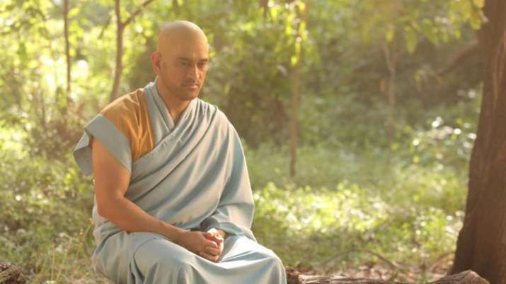 MS Dhoni's new monk avatar leaves fans puzzled; picture goes viral    Cricket News – India TV