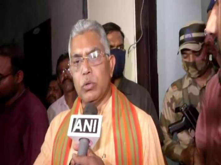 Bengal polls 2021: Dilip Ghosh dismisses speculation of Sourav Ganguly joining BJP