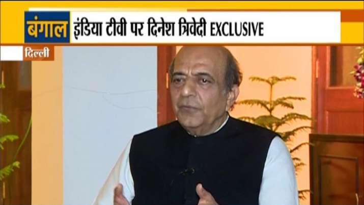 BJP leader Dinesh Trivedi Exclusive
