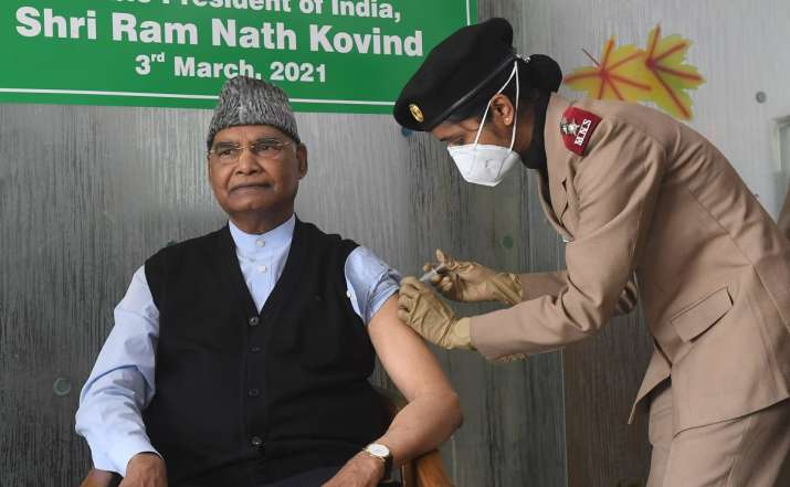 kovind vaccine shot