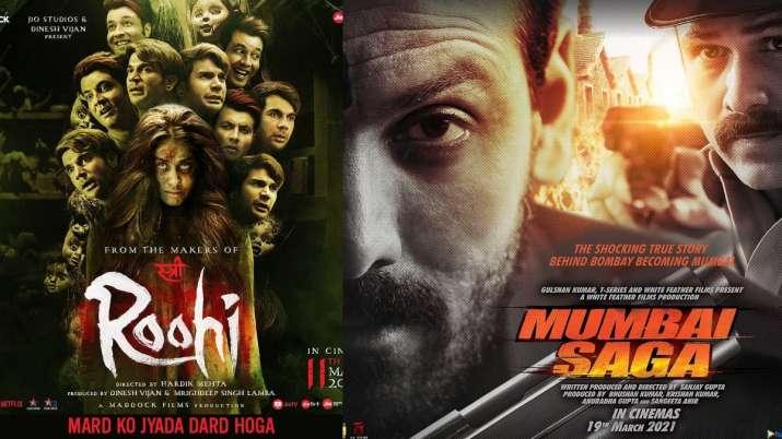 Posters of Roohi, Mumbai Saga