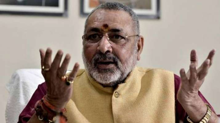 Firebrand BJP leader Giriraj Singh has lashed out at West Bengal Chief Minister Mamata Banerjee and